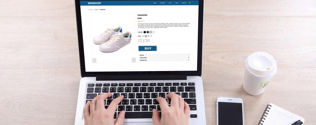 buying shoes online
