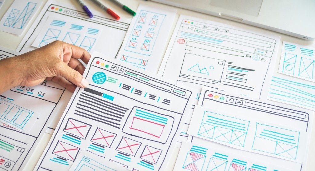 Web design planning